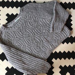 Snuggly Gray Kimchi Blue Oversized Sweater